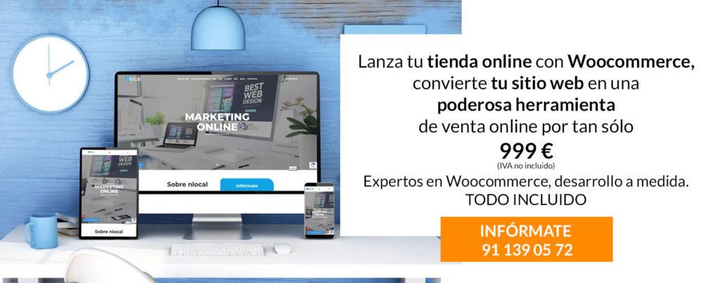 oferta nlocal tienda online woocommerce